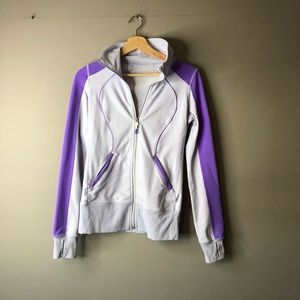 Lululemon purple zip up sweater jacket 4